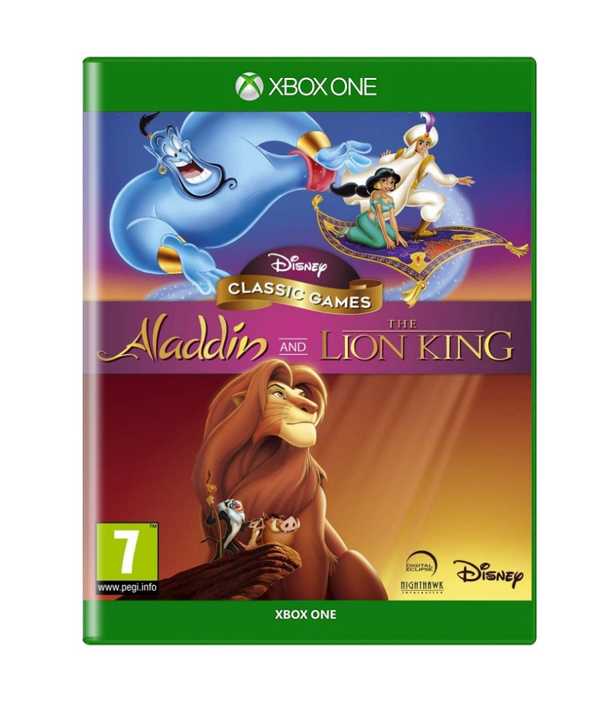 Jogo Aladdin And The Lion King - Xbox One - Disney Interactive