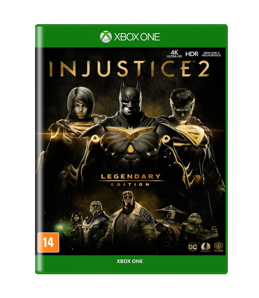 Jogo Injustice 2 - Legendary Edition - Xbox One - Warner Bros Interactive Entertainment