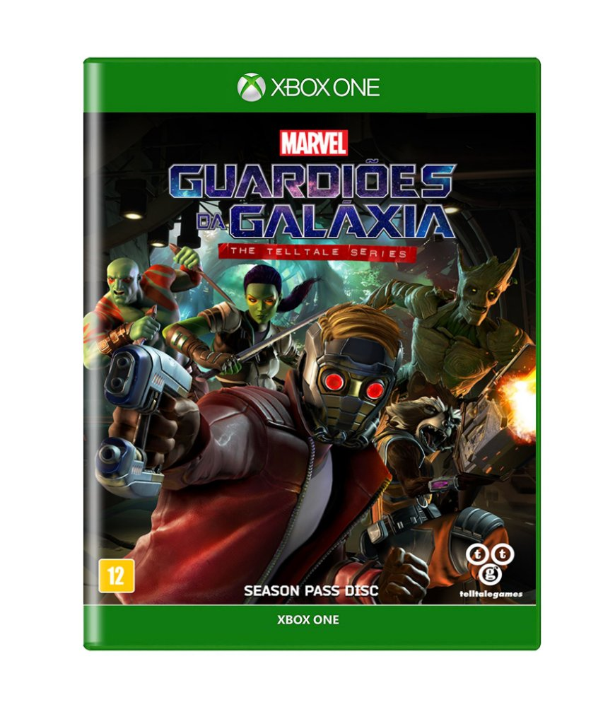 Jogo Guardians Of The Galaxy: The Telltale Series - Xbox One - Telltale Games