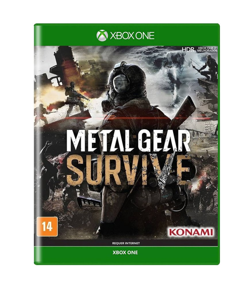 Jogo Metal Gear Survive - Xbox One - Sieb