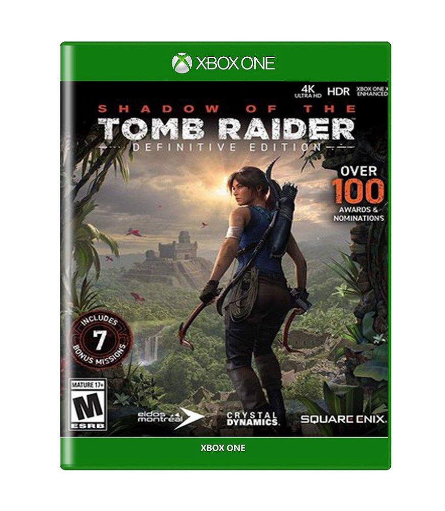 Jogo Shadow Of The Tomb Raider Definitive Edition - Xbox One - Square Enix