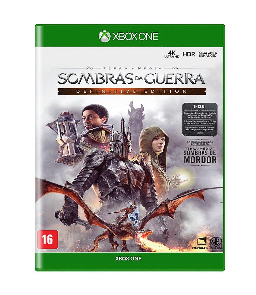 Jogo Terra Média Sombras da Guerra Definitive Edition - Xbox One - Warner Bros Interactive Entertainment
