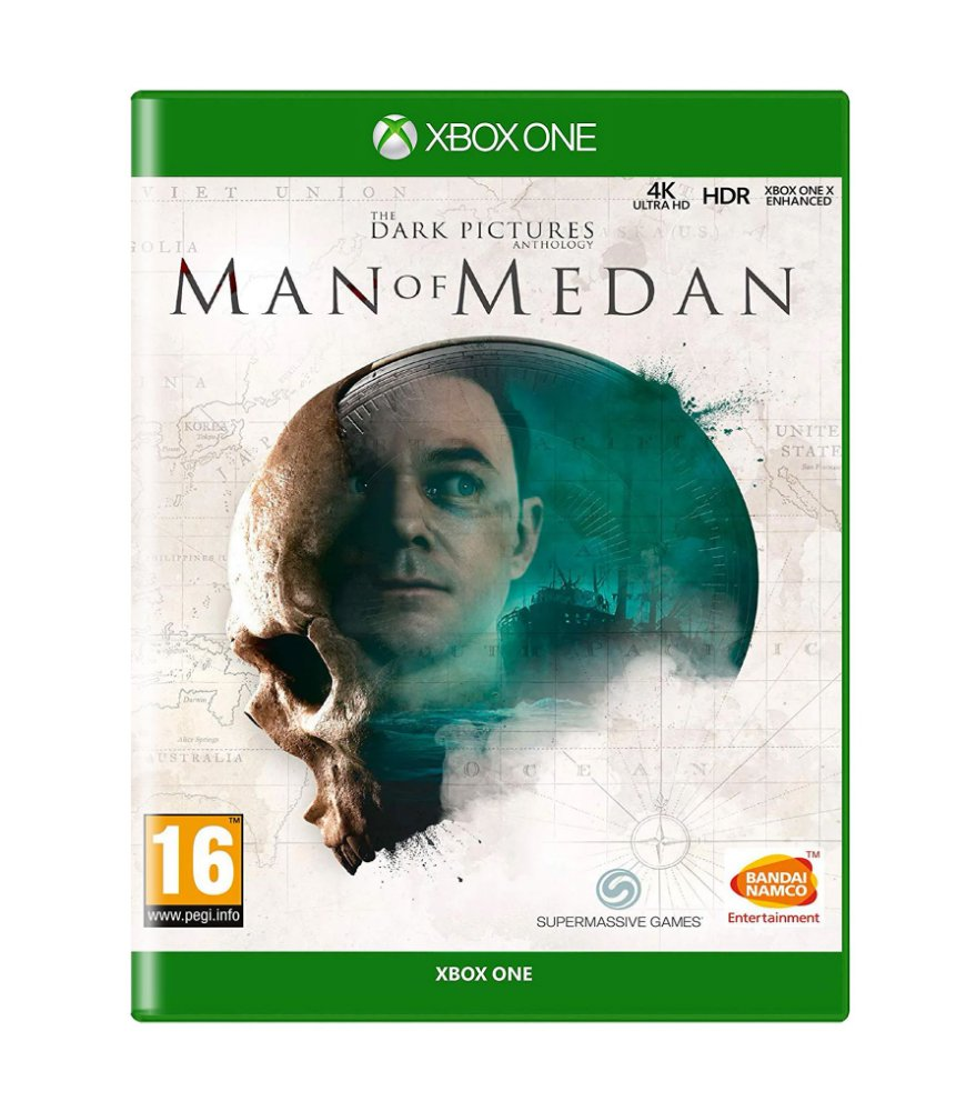 Jogo Man Of Medan - Xbox One - Bandai Namco Games