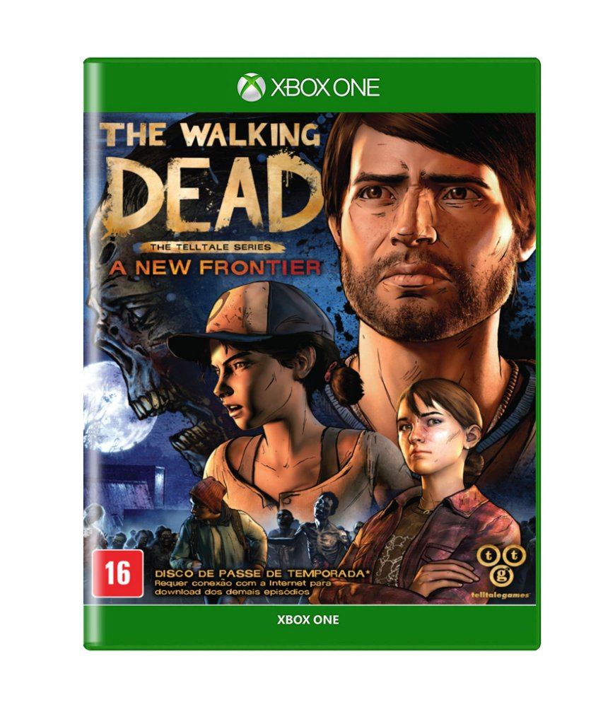 Jogo The Walking Dead:a New Frontier - Xbox One - Telltale Games