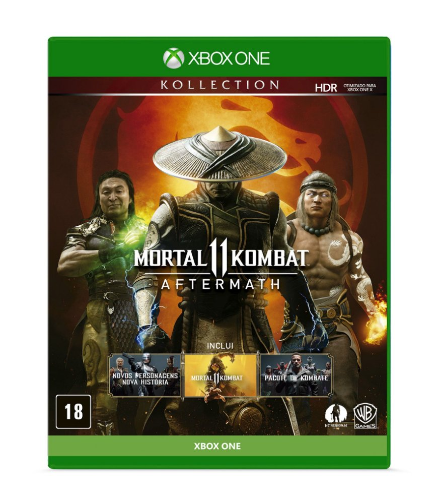 Jogo Mortal Kombat 11 - Aftermath - Xbox One - Warner Bros Interactive Entertainment