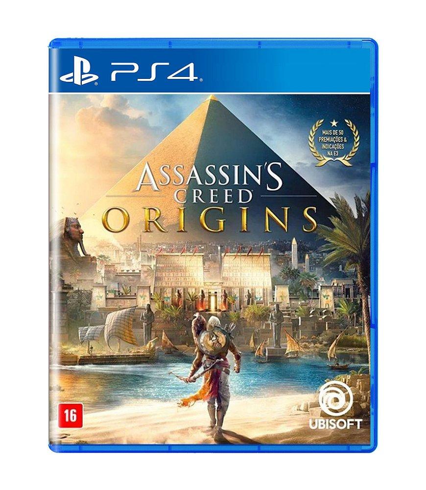Jogo Assassin's Creed Origins - Playstation 4 - Ubisoft