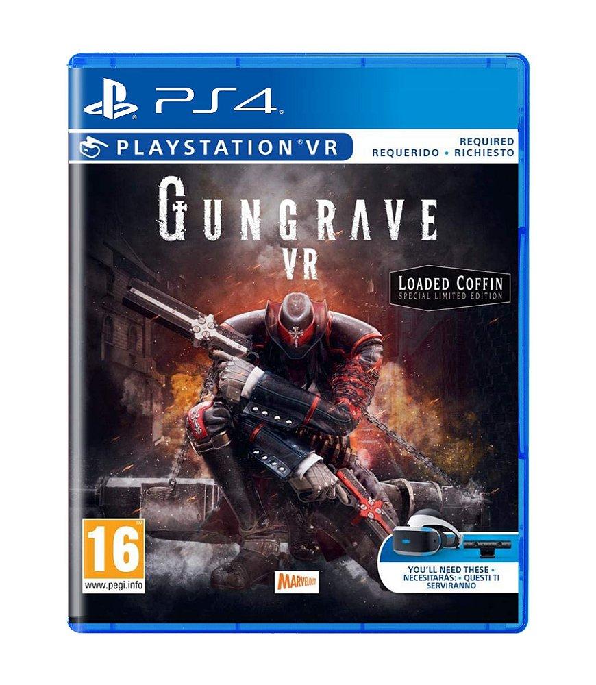Jogo Gungrave Vr - Playstation 4 - Xseed Games