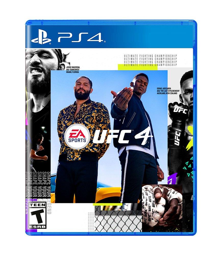 Jogo Ufc 4 - Playstation 4 - Ea Sports