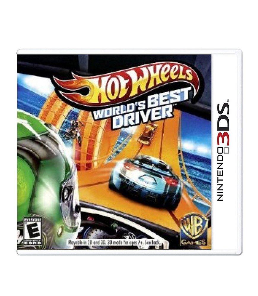 Jogo Hot Wheels Best Driver - 3ds - Warner Bros Interactive Entertainment