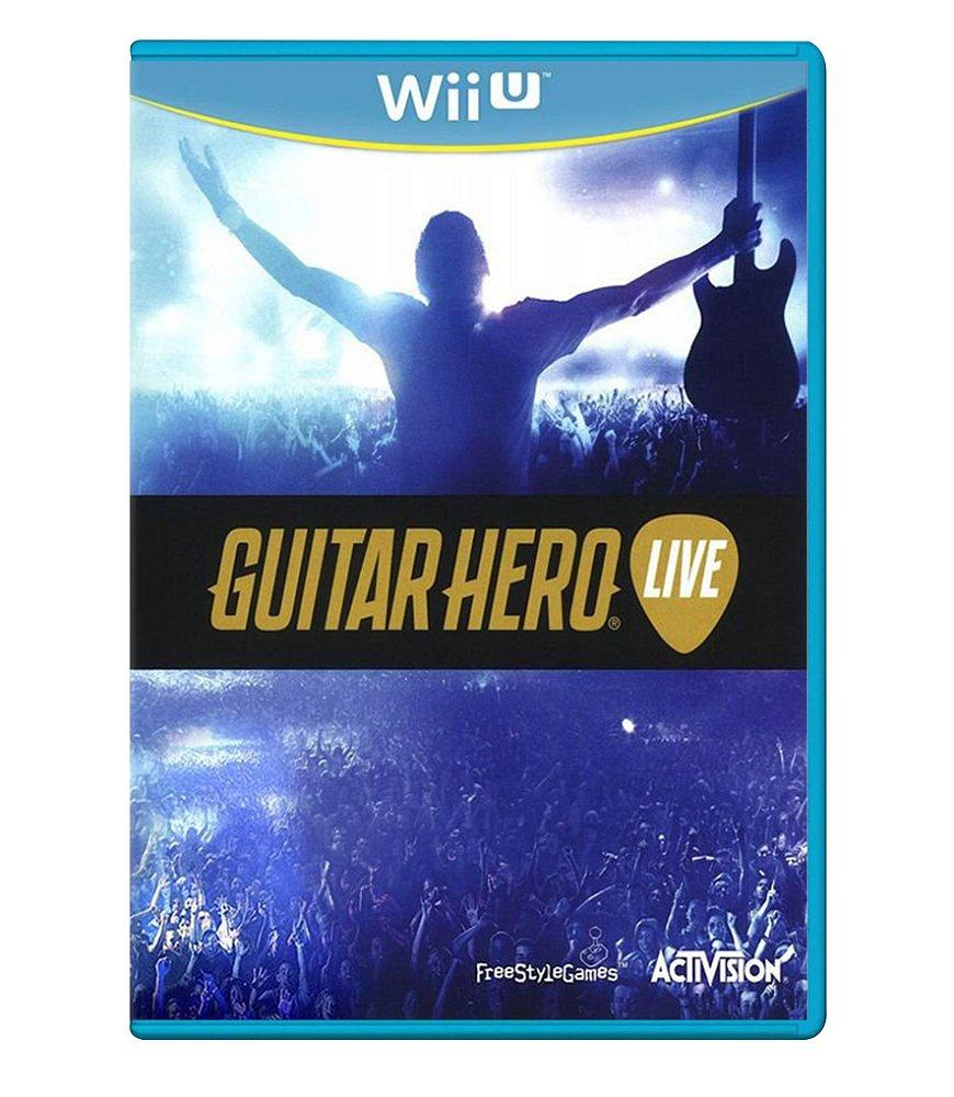 Jogo Guitar Hero Live - Wii U - Activision