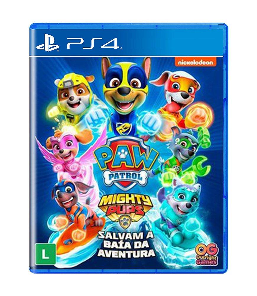 Jogo a Patrulha Canina Super Filhotes Salvam a Baia da Aventura - Playstation 4 - Outright Games