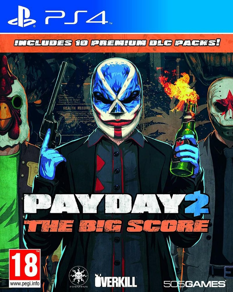 Jogo Payday 2: The Big Score - Playstation 4 - 505 Games
