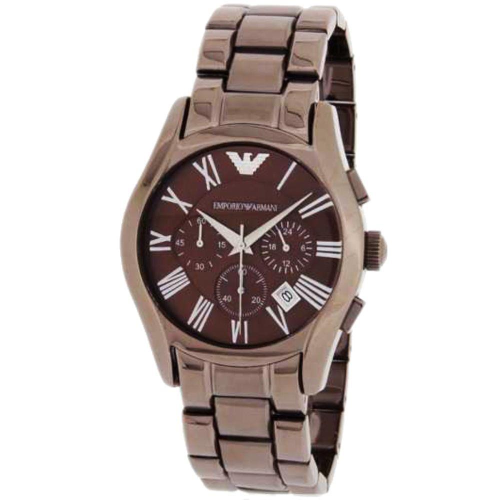 5d51e7e73de54 Relógio Masculino Empório Armani AR1610 Marrom. Código  MIM1423 Marca  Emporio  Armani. Relógio Masculino Empório Armani ...