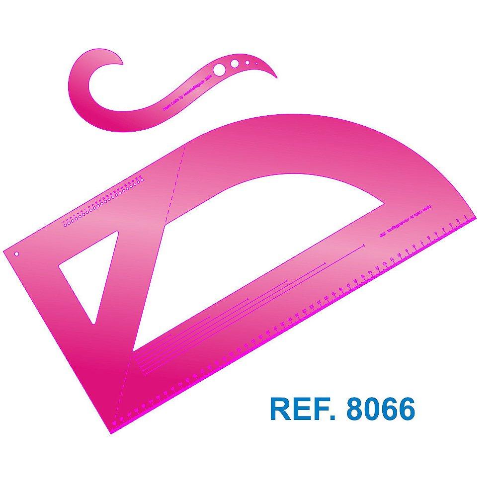 Kit de Curvas de Modelagem 2.0 Dayse Costa Pink