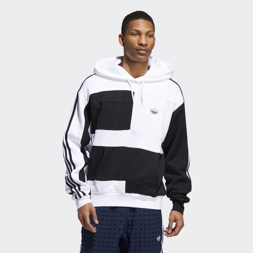 bala dentro Otoño  Blusa Adidas Originals Capuz ASYMM BLOCK ED5600 - Hard Action