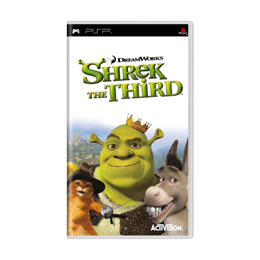 Jogo Shrek: The Third - PSP - MeuGameUsado