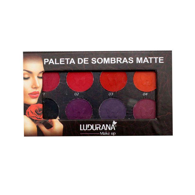 Paleta de Sombra Matte Luxo Ludurana 32 Cores | Shopee Brasil