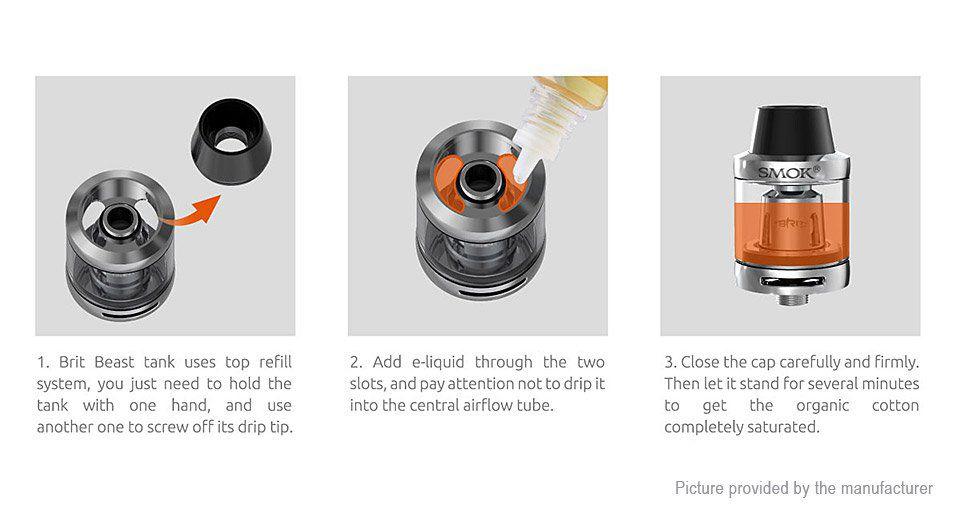 Kit OSUB Plus - 3300 mAh TC | Atomizador Brit Beast - Smok - Vapor e