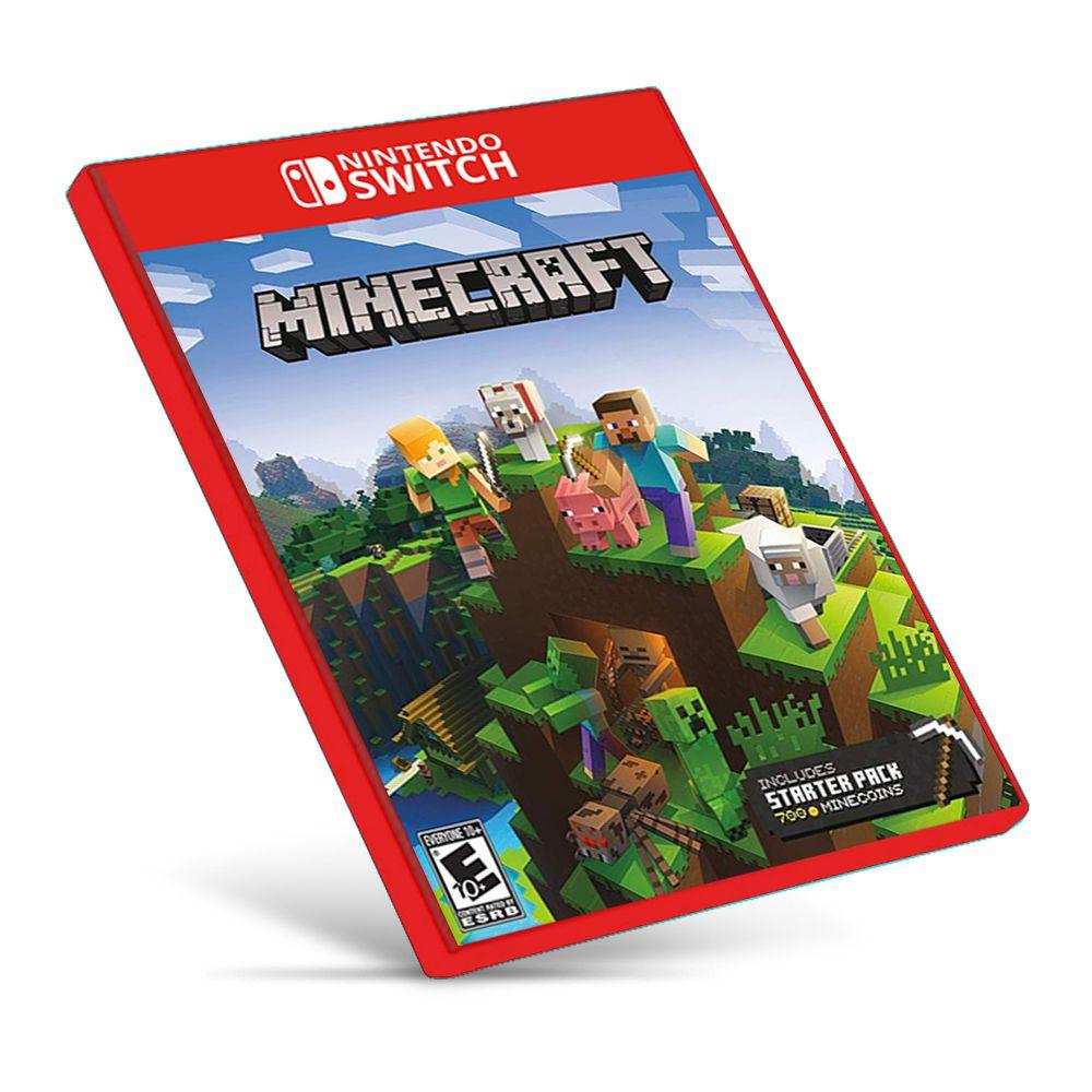 Minecraft - Nintendo Switch - Mídia Digital - One Games - Jogos