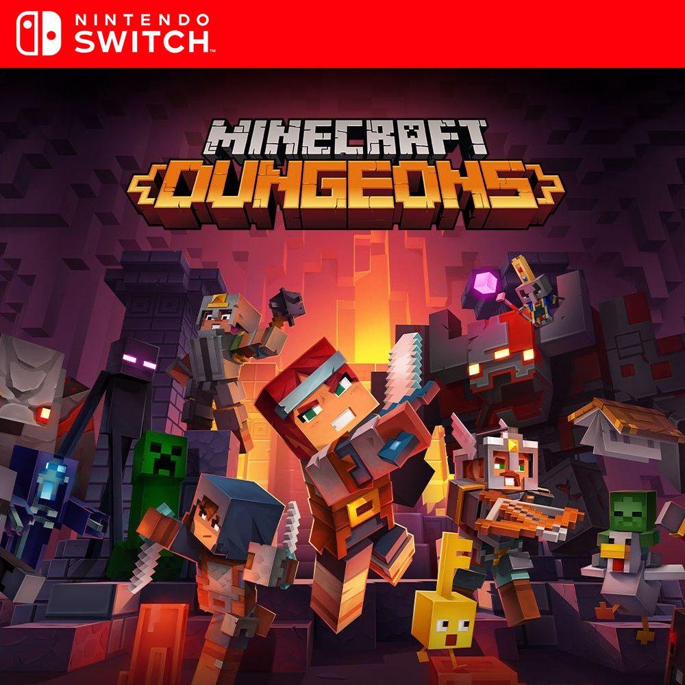 Minecraft Dungeons - Nintendo Switch Mídia Digital - Controle 9