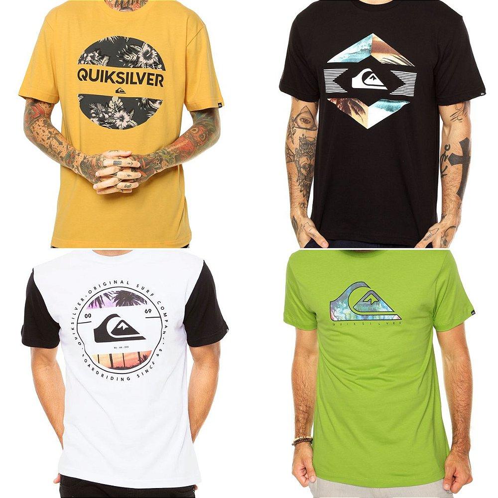 81bcf3309fb0d Camisetas Quiksilver Masculinas no Atacado - Lotes de 03 a 50 peças.  Código  4PNQWZGDX. Camisetas Quiksilver Masculinas ...