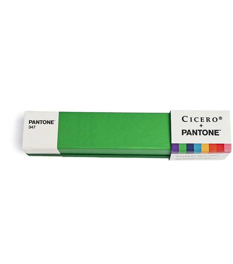 Estojo Cubico Cicero e Pantone Verde - Loja CHOIX dace35dfb7e3