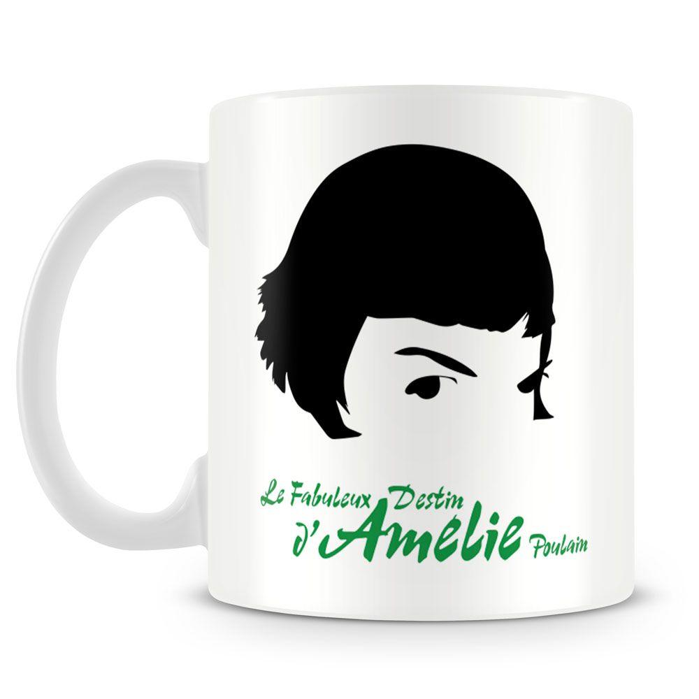 Caneca Personalizada Amelie Poulain Caneca Personalizada Para