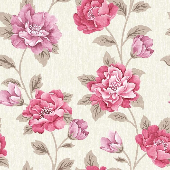 Papel-de-Parede-Floral-Lilas