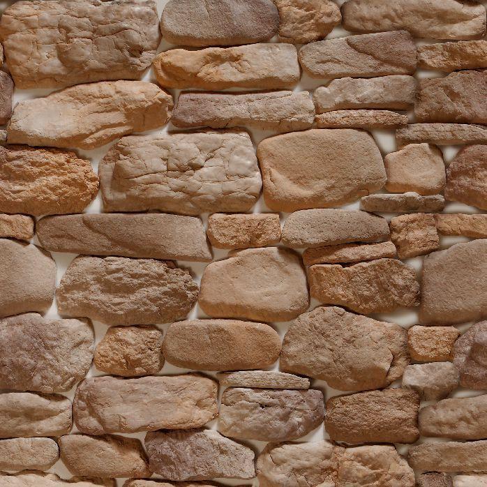 Papel-de-Parede-Pedras-Redondas-em-Tons-de-Marrom