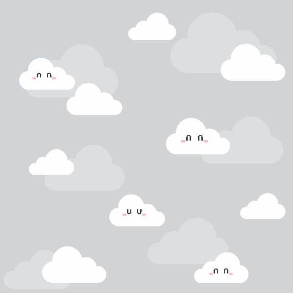 Papel-de-Parede-Infantil-Nuvens-Encantadas