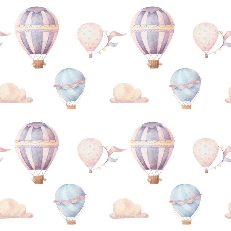 Papel-de-Parede-Infantil-Baloes