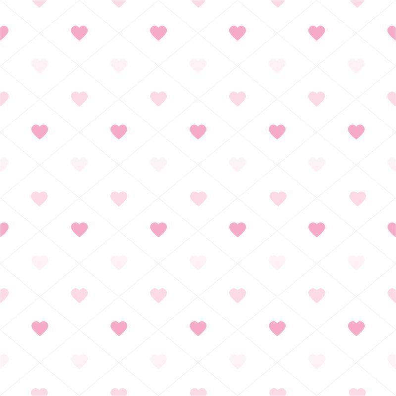 Papel-de-Parede-Baby-Coracoes-Rosa