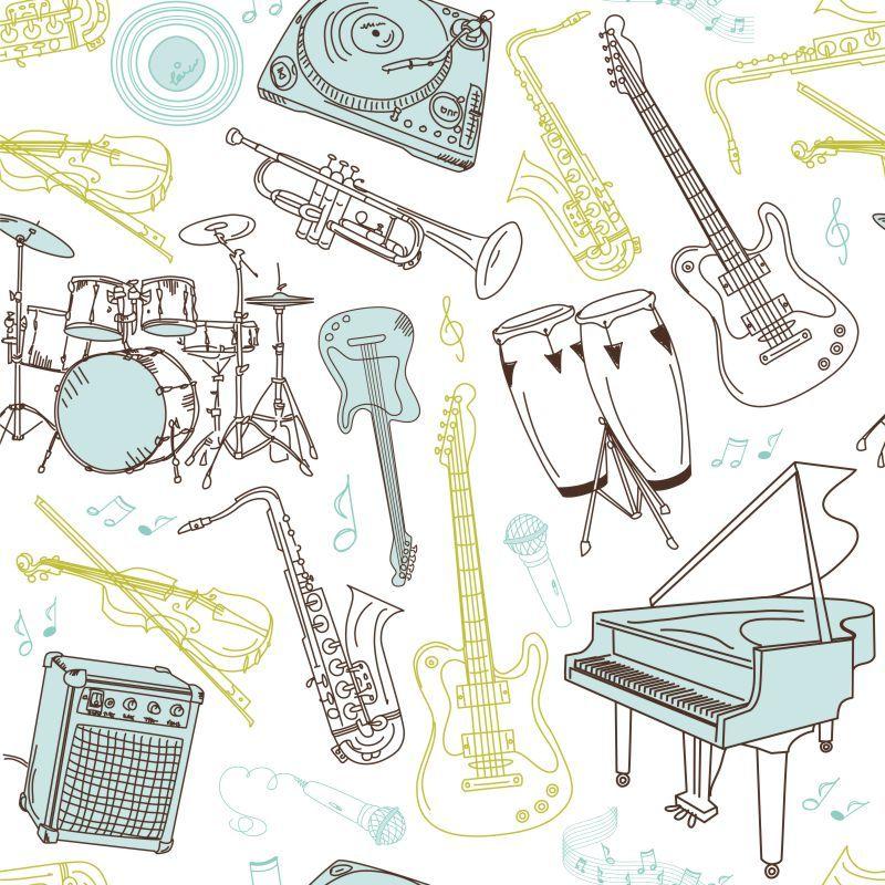 Papel-de-Parede-Teen-Instrumentos-Musicais