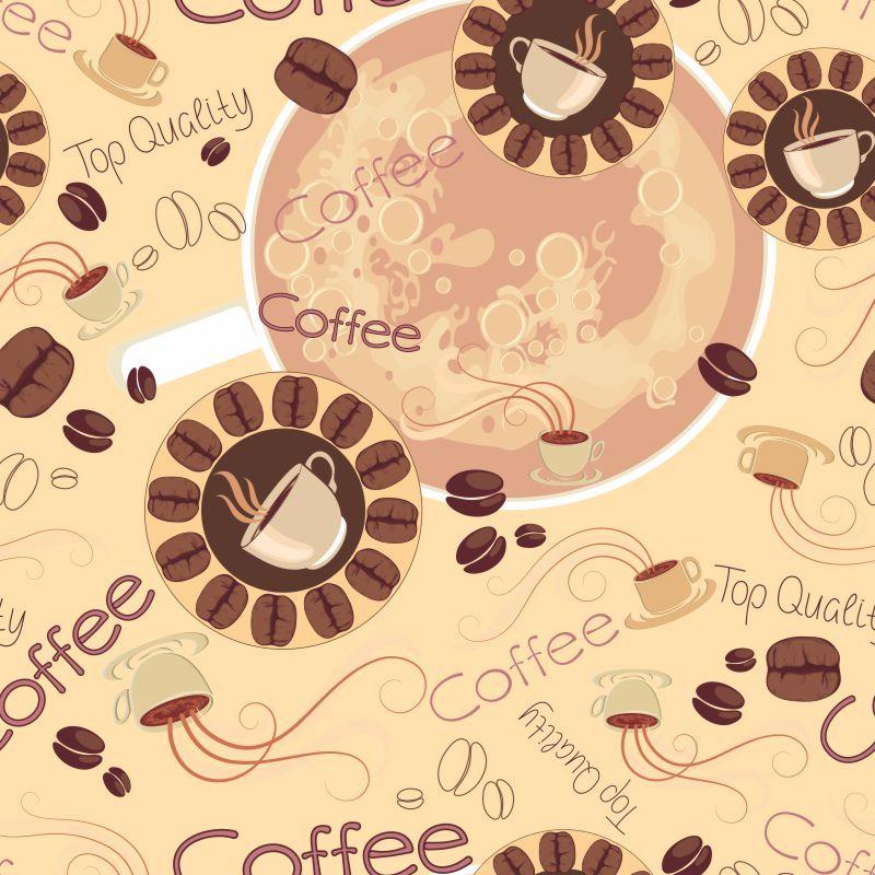 Papel de Parede Para Cozinha Coffee