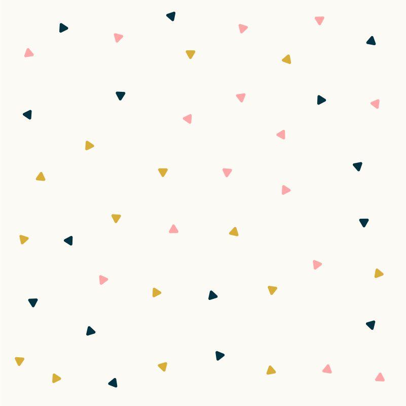 Papel-de-Parede-Baby-Triangulos-Rosa-Azul-e-Amarelo