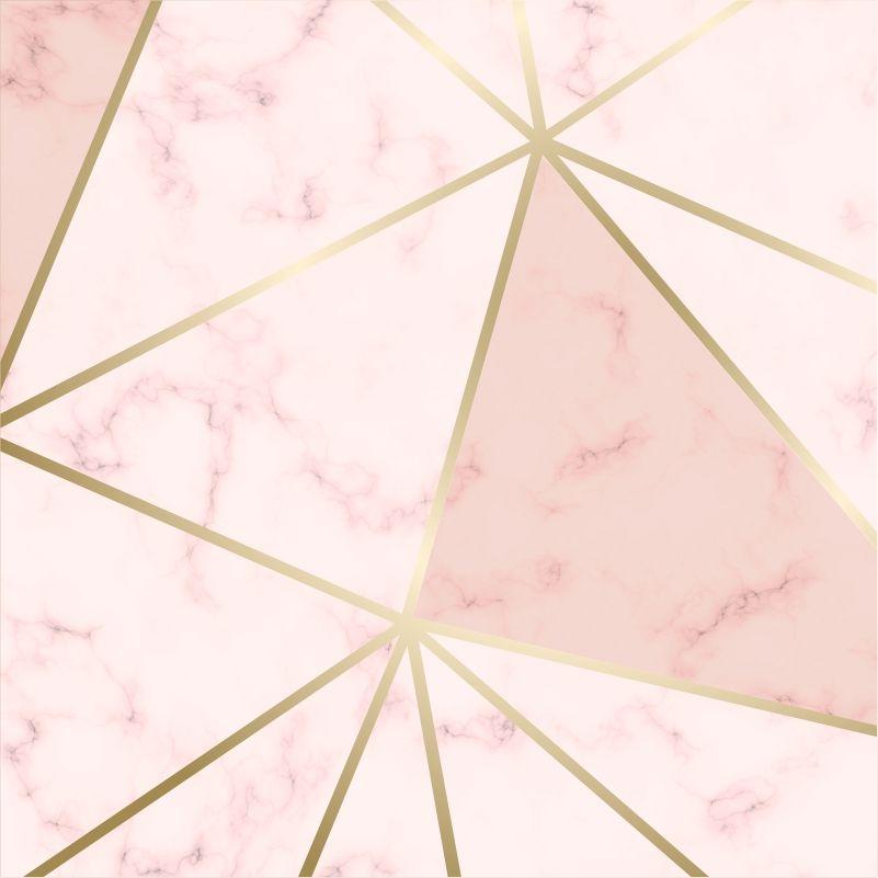 Papel de Papel Zara Pink Gold
