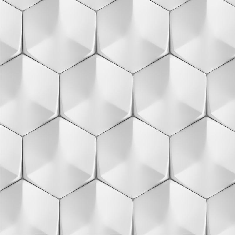 Papel de Parede Geométrico 3D Wolney