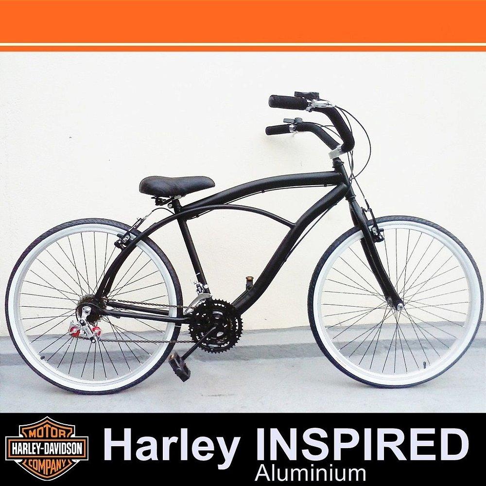 Bicicleta Retrô Vintage - Inspired Harley