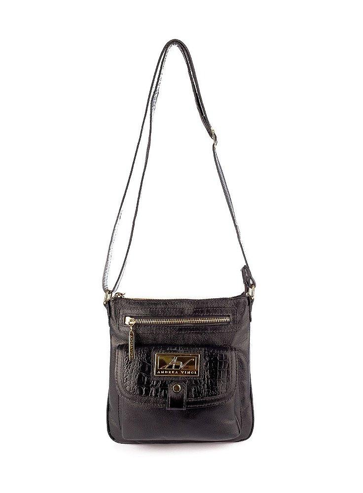 Bolsa De Couro Legitimo Pequena : Bolsa pequena tiracolo anny em couro leg?timo preta