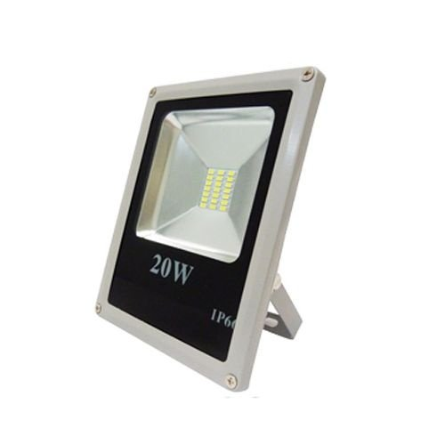 Refletor LED Holofote 20W Bivolt Branco Frio