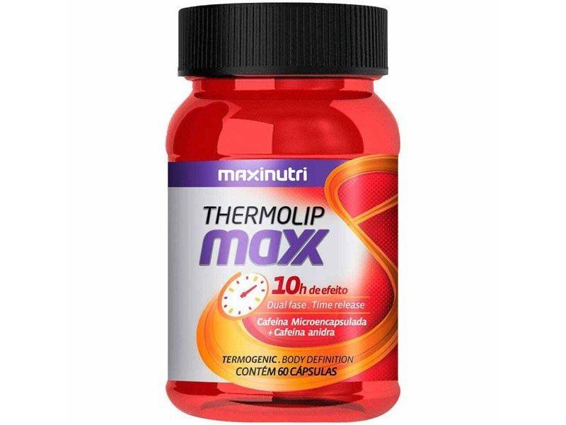 ThermoLip Maxx Termogênico 60 Cápsulas - Maxinutri