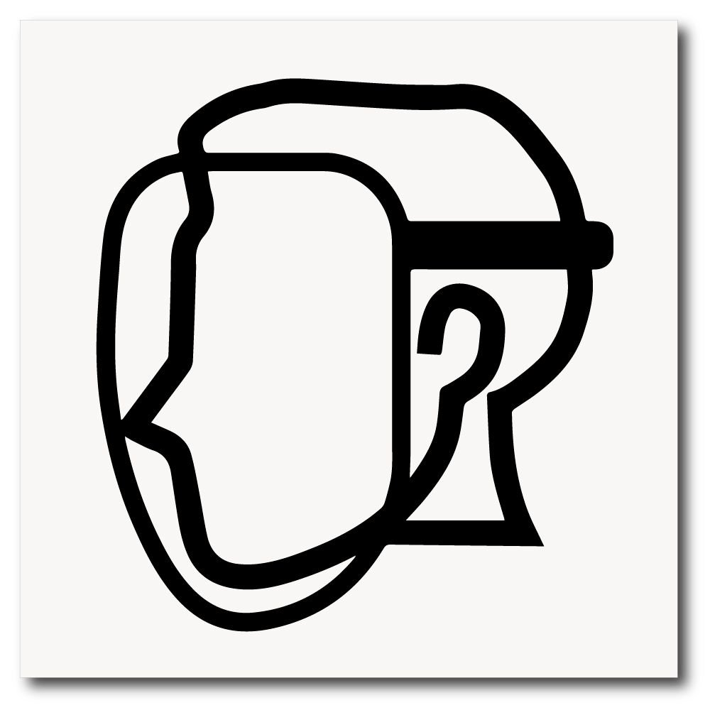 070aa4203e76c Placa de uso de máscara protetora de EPI 20x20 cm em ps 2mm. Placa de uso  de máscara protetora de EPI ...