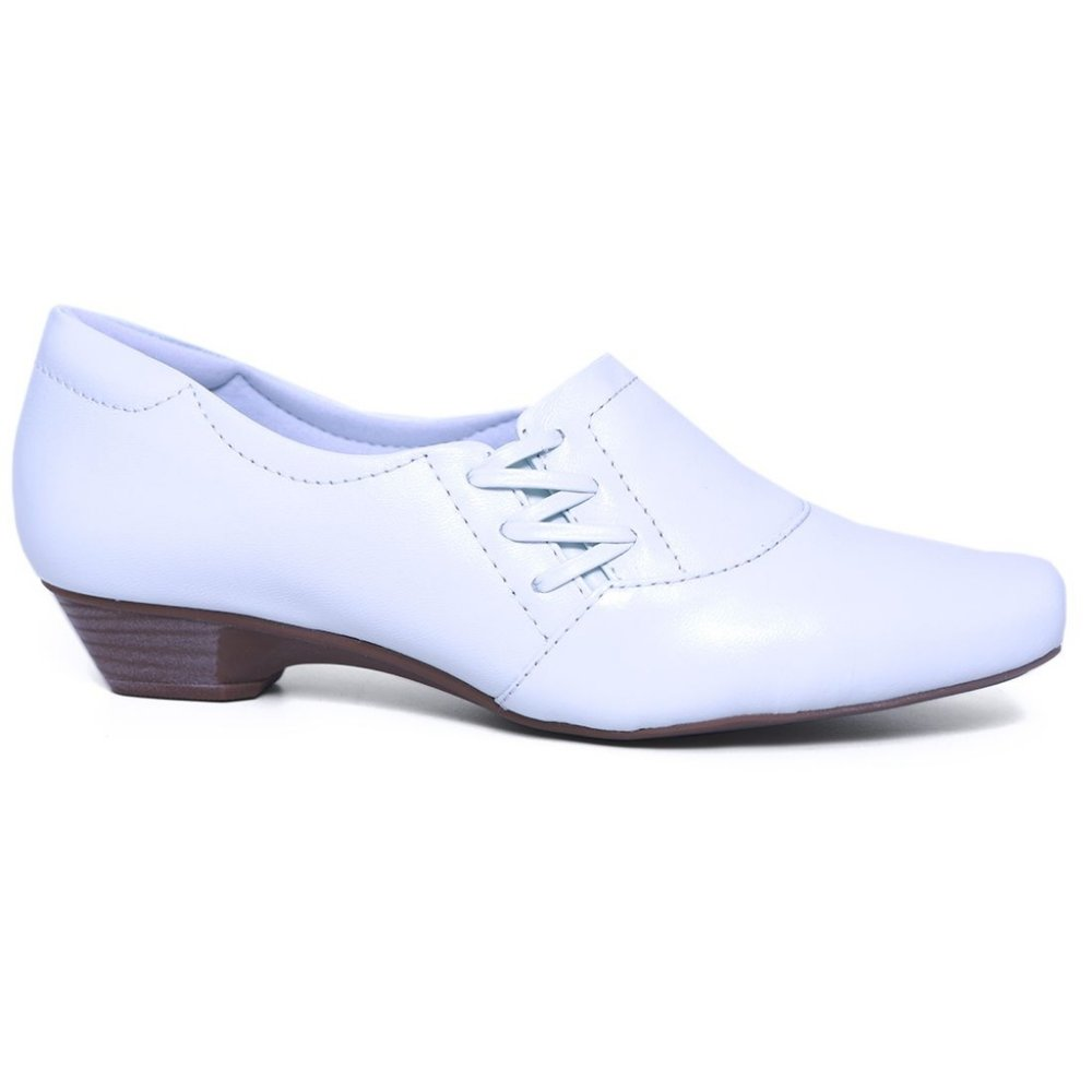 a5005e2b75 Sapato Feminino Neftali 3805 Branco - Calçados Femininos