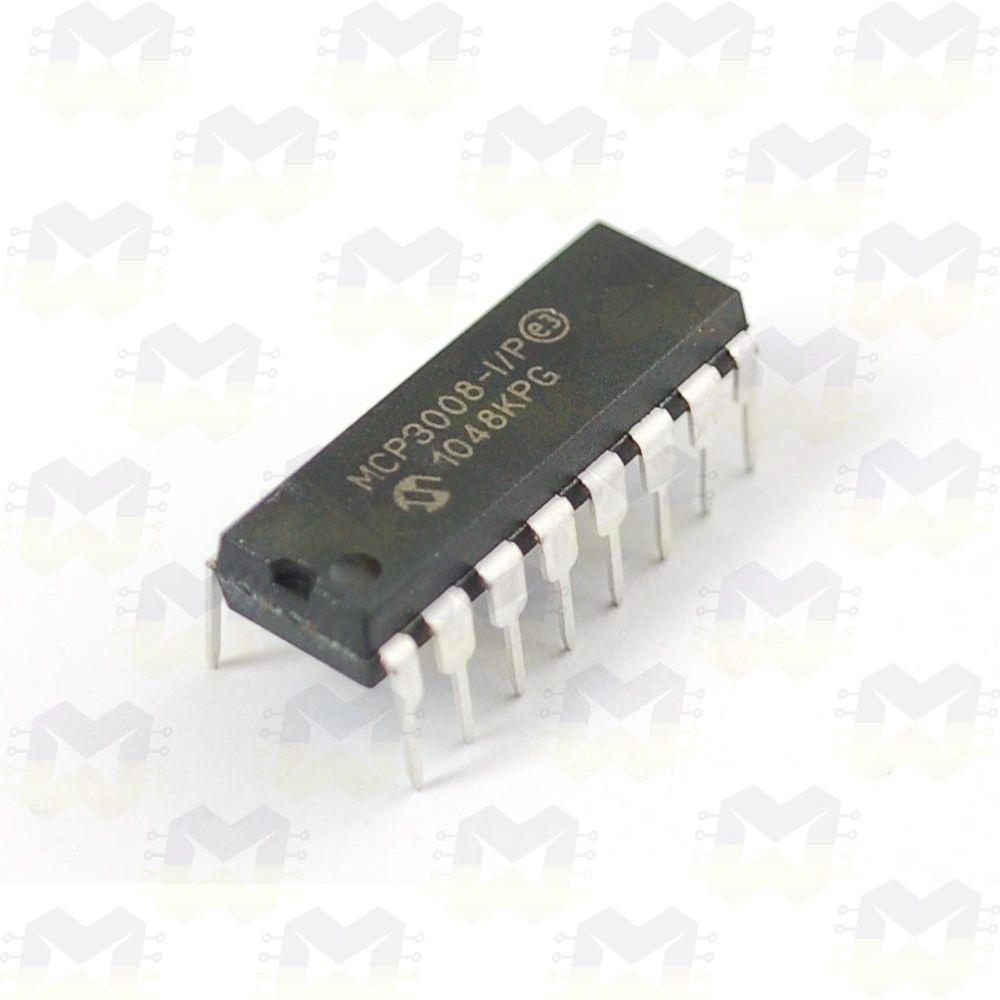 MCP3008 Conversor Expansor ADC de 10 Bit - MasterWalker Shop