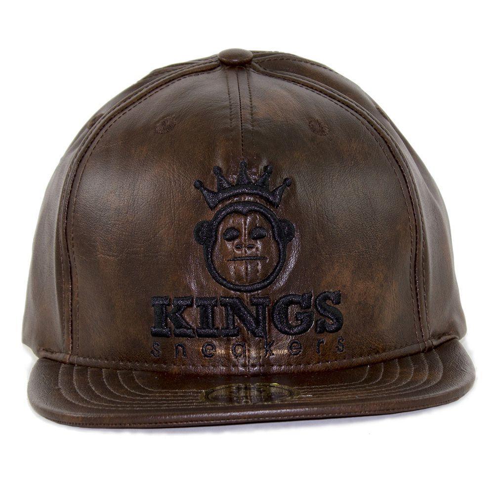 Boné Kings Leather Corten - Compre Agora ǀ Ostentare - OSTENTARE 9a43b423313
