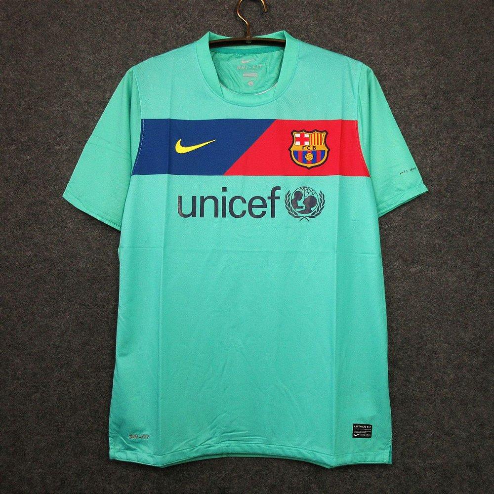 Camisa Barcelona 2010 2011 Away Uniforme 2 Acervo Das Camisas