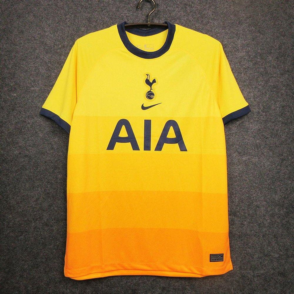 Camisa Tottenham Hotspur 2020 21 Third Uniforme 3 Modelo Torcedor Acervo Das Camisas