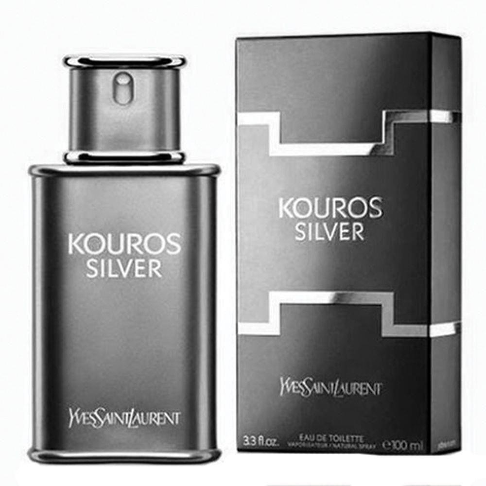 ed3d8c063 Kouros Silver Eau de Toilette Yves Saint Laurent - Perfume Masculino ...