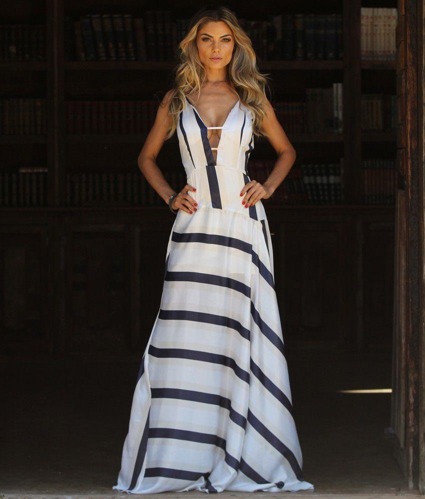 eff6a8fbbe Vestido Longo - Bbrasilstilus    loja de roupas femininas