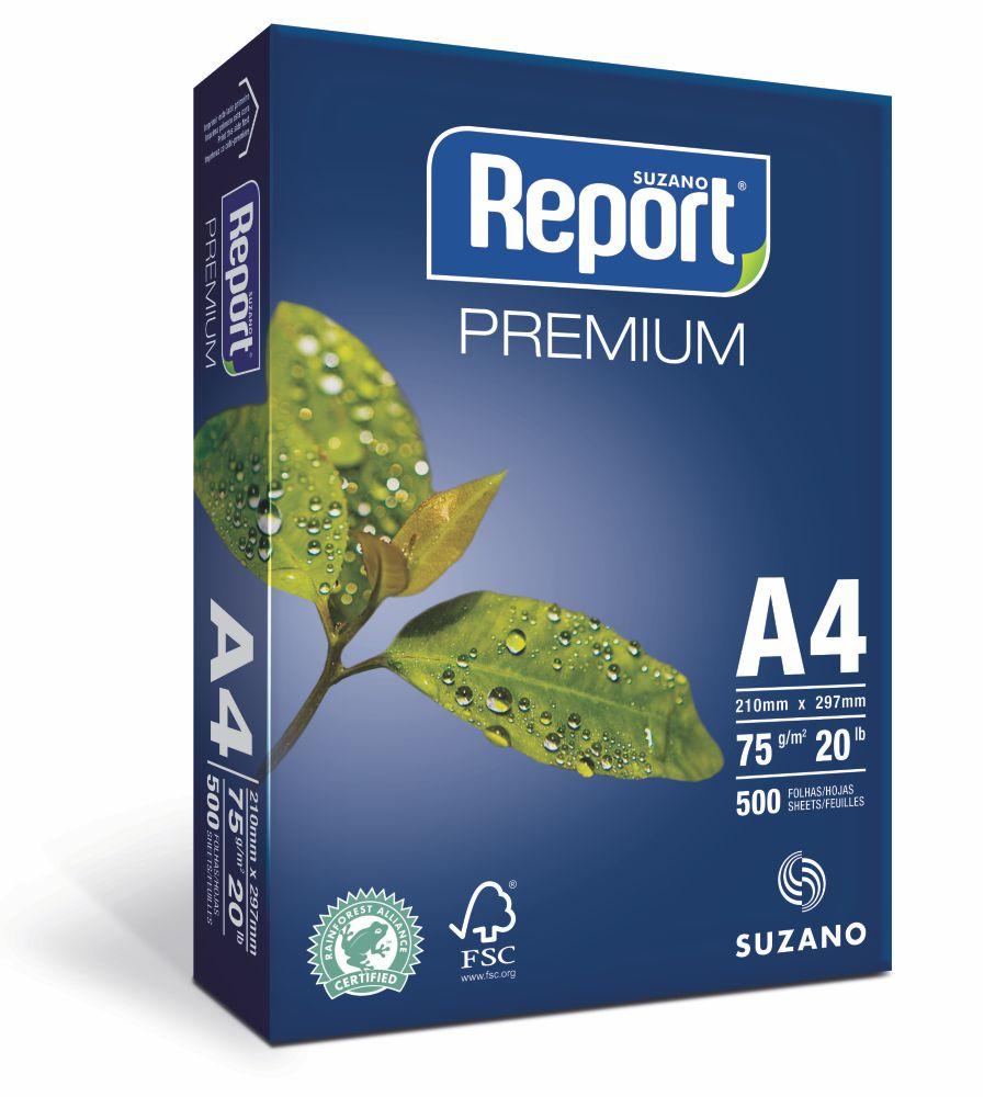 Papel Report Caixa C 10 Pacotes A4 210x297mm Dori Silk Sign